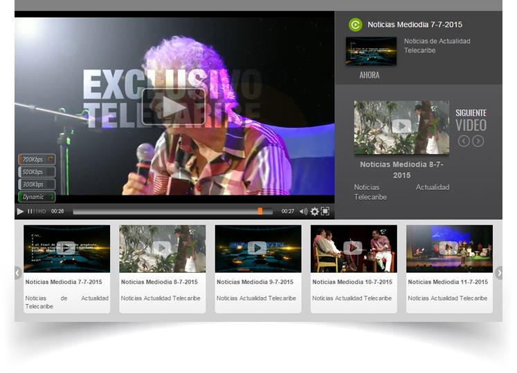 Servicios de Streaming Multistream.Grabación live en la nubed